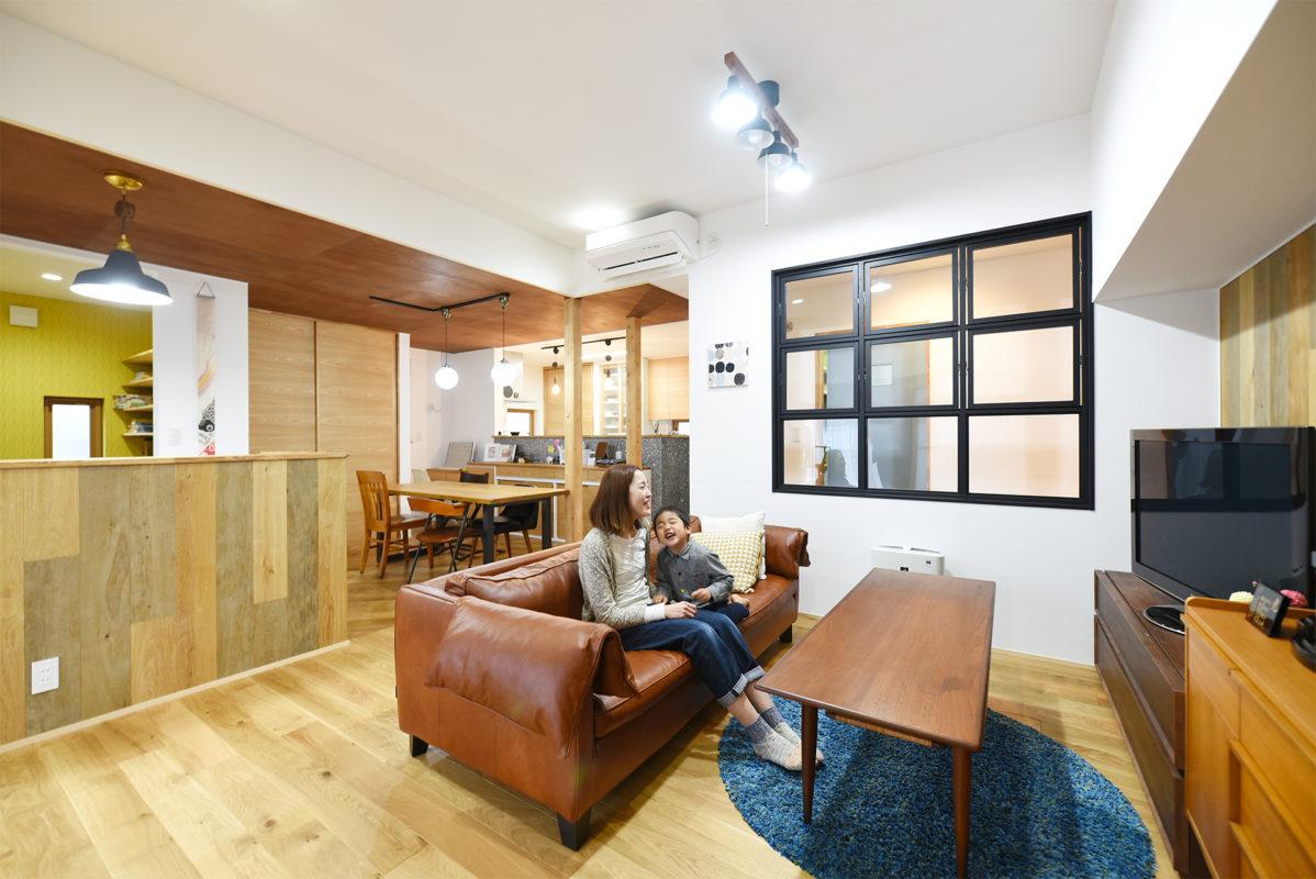 【リフォーム】思い出の家をカフェ風にフルリノベ