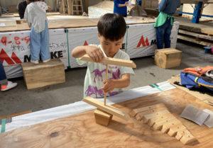 【レポート】第8回正木屋DIY部「杉と檜のクリスマスツリー」