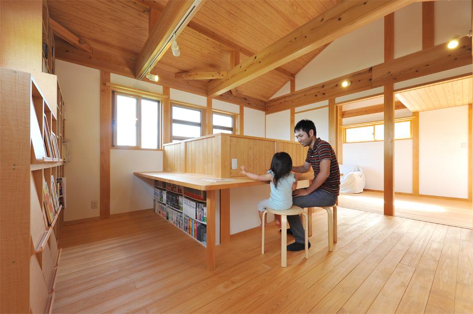 いわき家ナビ 江尻建築 南に向けた自然素材の家