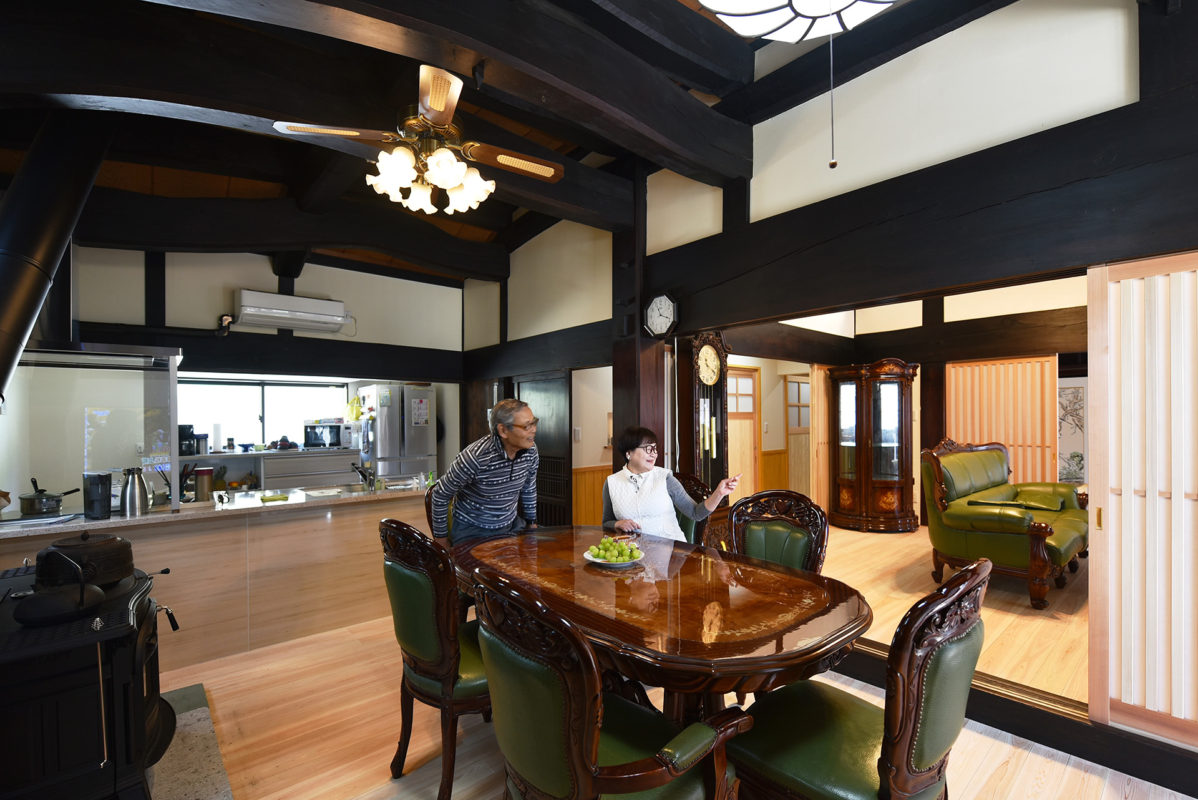 保護中: 築100年好間の古民家改修